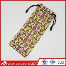 Pequeños bolsos del regalo del lazo de Microfiber