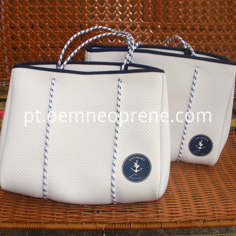 punch beach bag