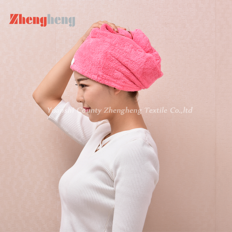 Coral Fleece Hair Cap (10)