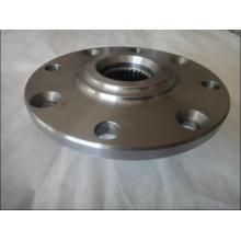 Flange de aço para forjamento com usinagem CNC