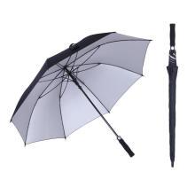 Silver Coating Promotion Customized 30 Inch UV Golf Umbrellas