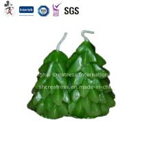 Preço de fábrica por atacado para a vela da árvore de Natal