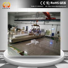 Film réfléchissant transparent de 6 mètres de hauteur pour la projection