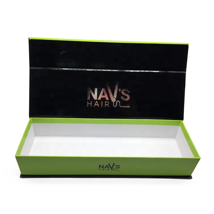 Luxury Rigid Paperboard Hair Straighteners Gift Box