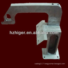 sand casting machinery parts/ steel sand casting / investment casting part
