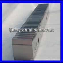 М1~М14 зубчатая рейка с монтажными отверстиями