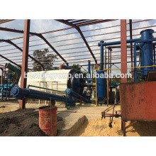 Waste rubber pyrolysis carbon black and fuel oil plant 10T/D pyrolysis system to convert plastic into oil