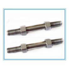 Parafuso de extremidade dupla de aço inoxidável / parafuso prisioneiro / hastes roscadas