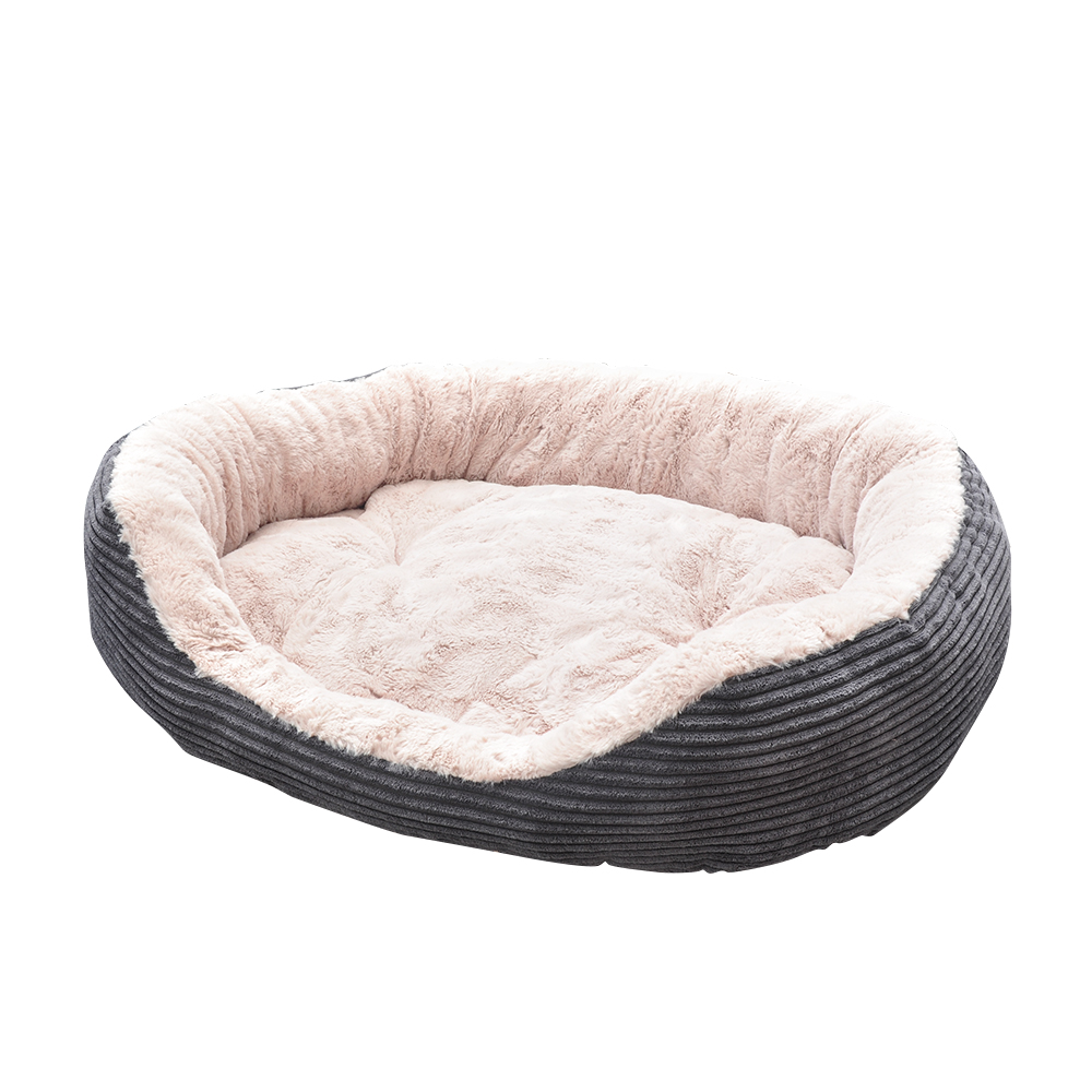 Pet Bed - Lounger Plush Cord4