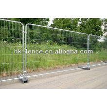 Barrière de voie / clôture temporaire / clôture portative (fabrication)