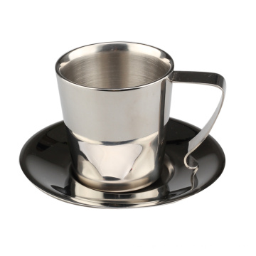 Double Wall Insulated Coffee Tea Cup
