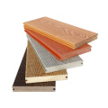 Wood color solid outdoor wpc decking and pergola dubai