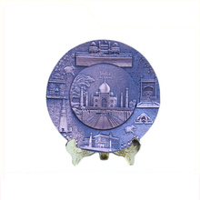 Arte uso de boa qualidade placa comemorativa presente da lembrança do turista