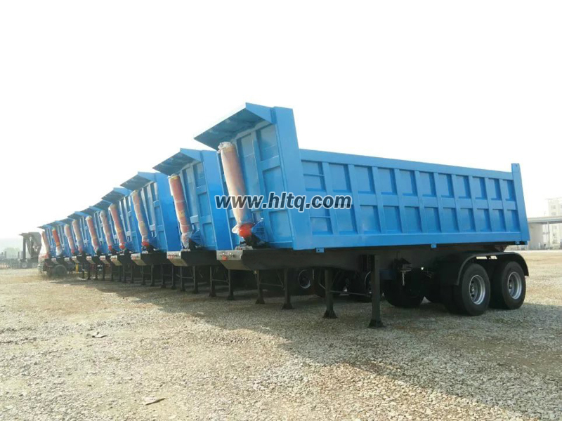 Tripper semi trailer