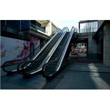 Outdoor-Rolltreppe mit Sicherheitsglas Handlauf