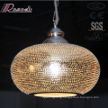 New Design American Ancient Hollow Pendant Lighting with Restaurant