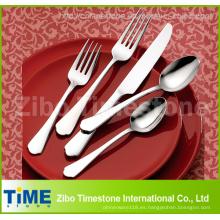 Cubiertos de cubiertos de acero inoxidable Set (TM0604-YT)