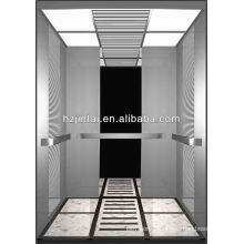 cheap price High Deluxe stainless steel cabin passenger elevator