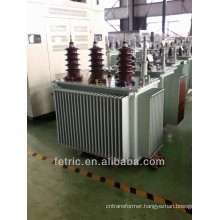 Three phase oil immersed 50HZ/60HZ low loss copper winding 5mva 35/10.5kv transformer