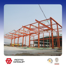 conception de bâtiment scolaire de structure en acier d'usine / conception de structure en acier