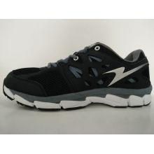 Новейший дизайн Black Mesh Breathable Gym Shoes для мужчин