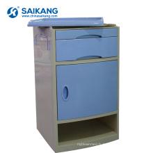 SKS002-1 Cabinet de chevet de chambre à coucher en plastique ABS mobile
