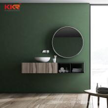 Mirrored Cabinets modern bathroom vanity sink basin cabinet set