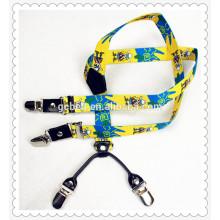 Kids Fancy printing braces suspenders