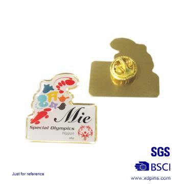 Metal Aniversary Lapel Pin for Souvenir