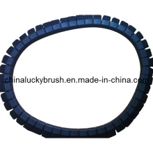 Nylon or Bristle Material Textile Chain Brush with Belt (YY-255)
