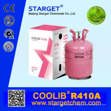 mixed refrigerant gas r410a in 25lb /11.3kg specification