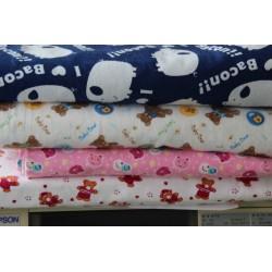 100% Baumwolle Flanell Stoff für Baby Bettwäsche Set