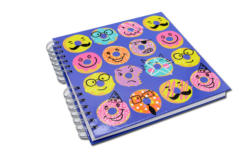Spril notebook printing