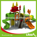 Outdoor Playground Equipment with slides for daycare