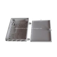 4 portas para tomada de fibra óptica duplex SC