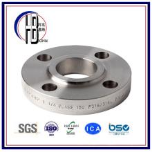 Reborde de empalme de acero inoxidable estándar americano 304L 316L Pipe Fitting