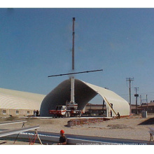 China Sanxing k q span Arch Roof Without Columns forming machinery