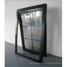 Vente chaude en aluminium haut Hung fenêtre