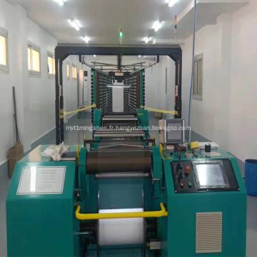 Machine d'ourdissage de fil de spandex élastique