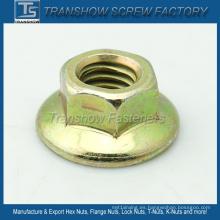 Tuerca de brida hexagonal de torque estándar estadounidense estándar