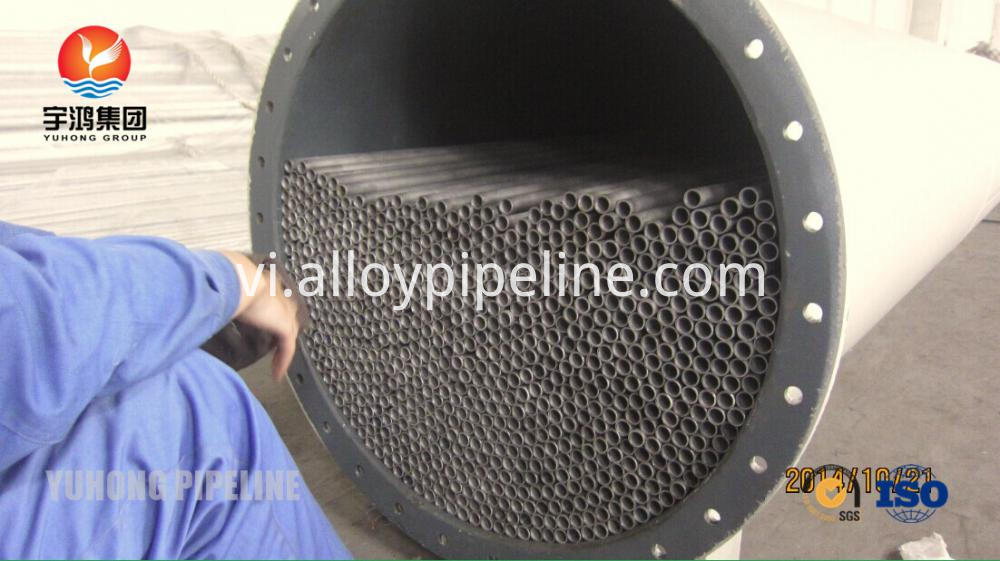 ASME SA789 UNS S32750 Super Duplex Seamless Tube for Heat Exchanger