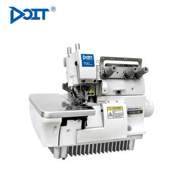 DT 700-3-16S 1 aiguille 3 fil plat à bords étroits surjeteuse industrielle machine à coudre