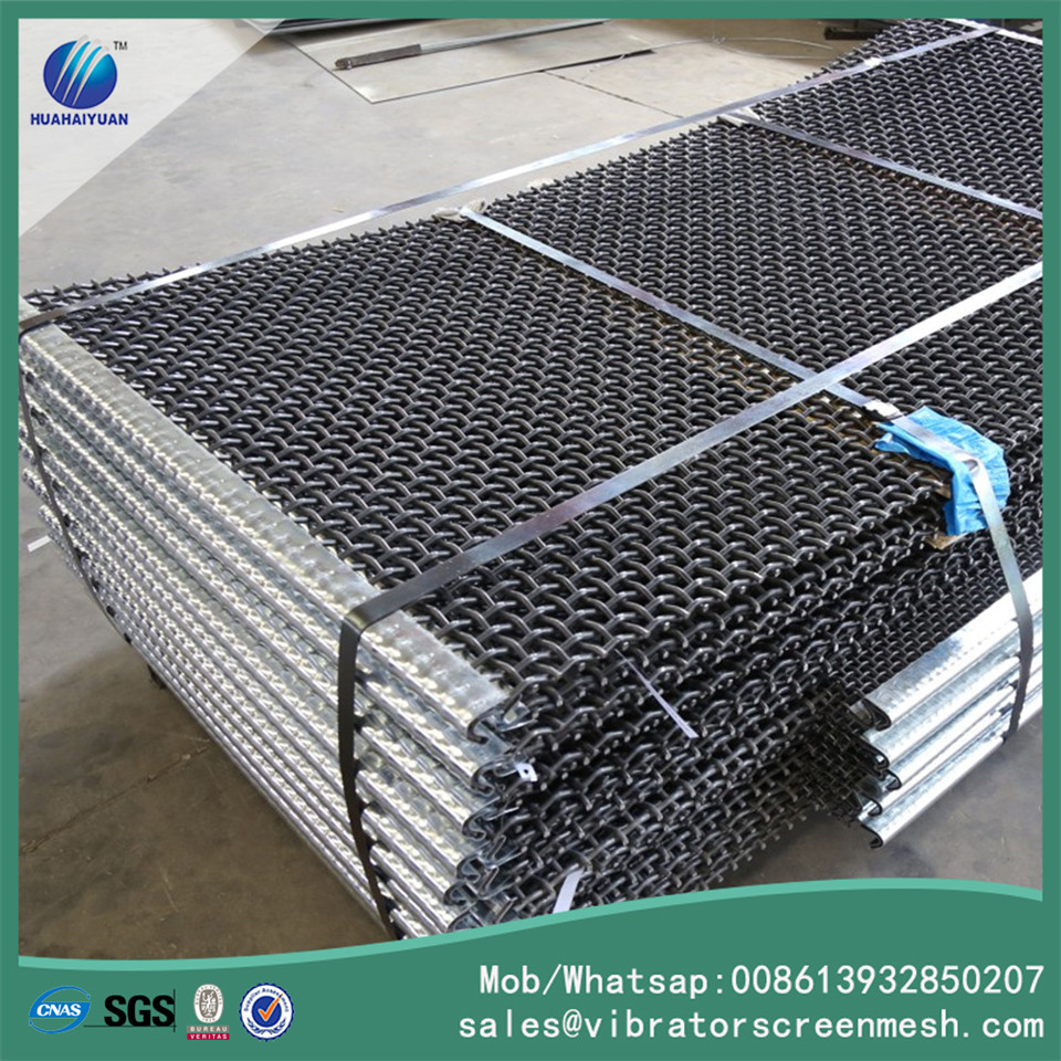 Spring Steel Wire Mesh With Bend Cover