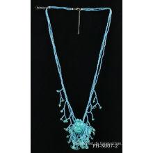 Natürlichen Samen handgemachte Naruto Halskette