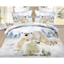 Conceptions d'ours du tissu d'impression d'écran pour la feuille de lit