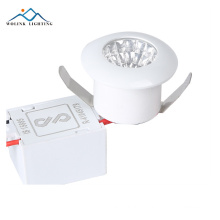2 years warranty factory price IP44 emergency 9w led spot light