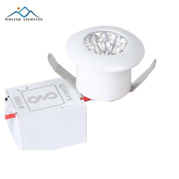 2 years warranty factory price IP44 emergency 9w led spot light