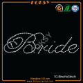 Bride rhinestone heat transfer designs