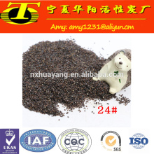 China manufacture waterjet cutting abrasive garnet 80 mesh