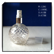 100ml Round Glass Perfume Bottles with Sprayers